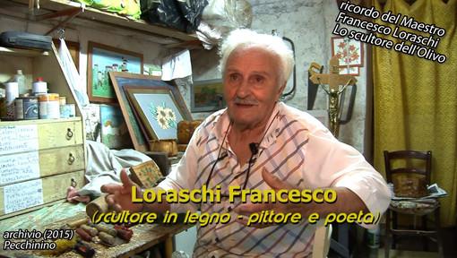 Il documentario lo 'Scultore dell'Olivo' con l'indimenticabile Maestro Francesco Loraschi