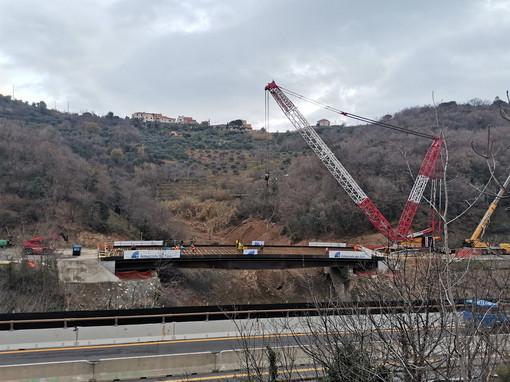 Venerdì prossimo l'inaugurazione del nuovo viadotto 'Madonna del monte' sulla A6: in ulteriore anticipo rispetto al programma lavori