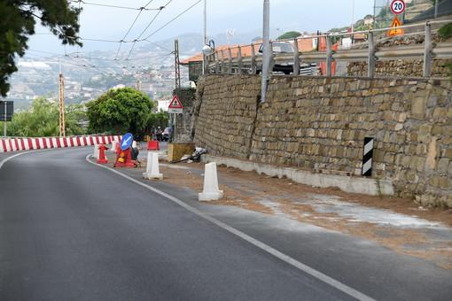 """Sanremo: cantiere sull'Aurelia vicino al 'Montecarlo', il Comune """"È nostro, apertura a breve in modo controllato"""""""
