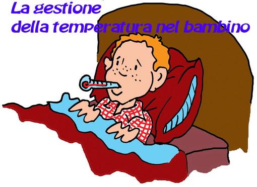 La gestione della temperatura nel bambino