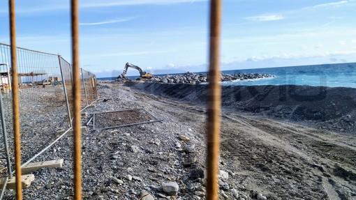 Bordighera: continuano i lavori per la ricostruzione di Sant'Ampelio, la città si prepara per la 'prova costume' 2020