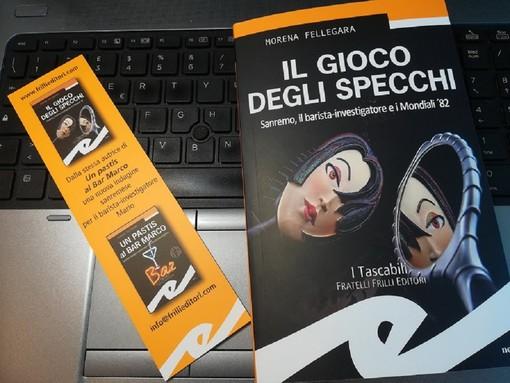 A '2 ciapetti con Federico' Morena Fellegara presenta il suo nuovo giallo ambientato a Sanremo