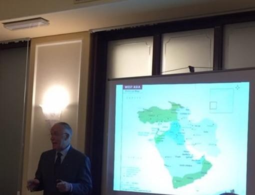 Sanremo: l'Iran oggi dopo il viaggio di un socio nella 'Conviviale' di ieri del Rotary Club