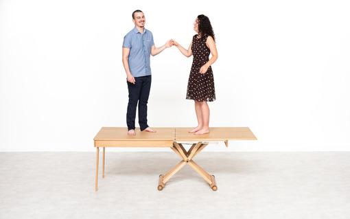 Scopri il tavolo salvaspazio LG Lesmo che ti farà guadagnare spazio e comfort