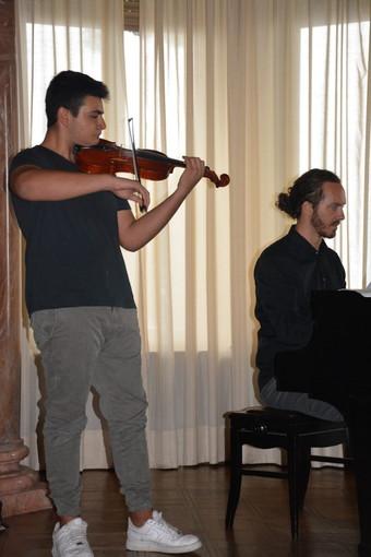Alle prove di esami al Conservatorio Paganini di Genova, Lorenzo Ansaldi supera l'esame di certificazione del Periodo Intermedio
