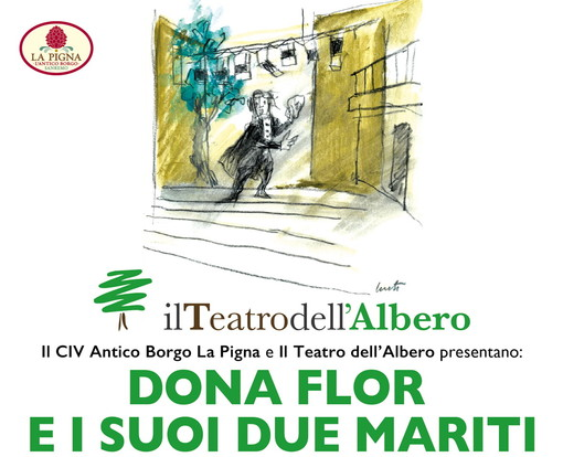Sanremo: domenica all'ex Oratorio di Santa Brigida teatro e musica con 'Dona Flor e i suoi due mariti'