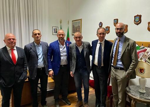 Liguria Popolare in visita in Comune a Sanremo