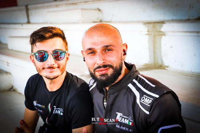 Via alla semifinale di campionato 'Legend Cars': domenica 3 ottobre scendono in pista Milanesi e Liguori per il Toscano Racing