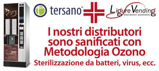 Ligure Vending, per garantire sicurezza alla clientela ha scelto la sanificazione con ozono per i suoi distributori automatici