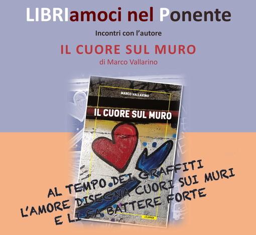 """Imperia: giovedì la presentazione de """"Il cuore sul muro"""" di Vallarino presso la Biblioteca Civica"""