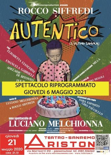Sanremo: lo spettacolo di Rocco Siffredi al teatro Ariston posticipato a maggio 2021