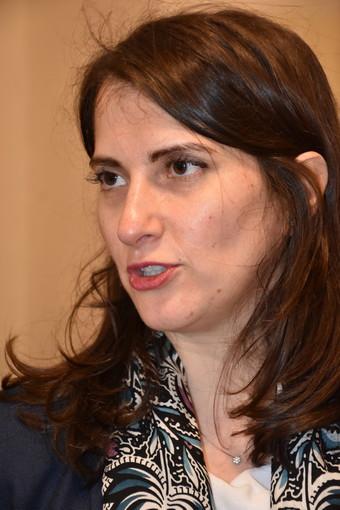 """Elezioni regionali, la candidata alla presidenza M5S Alice Salvatore a Sanremo """"Non saremo alleati con il Pd"""" (video)"""