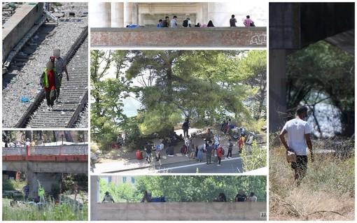 Ventimiglia: da oggi è chiuso il Campo Roya, a Ventimiglia almeno 400 migranti e dalla Francia 50/60 riammissioni al giorno (Foto)