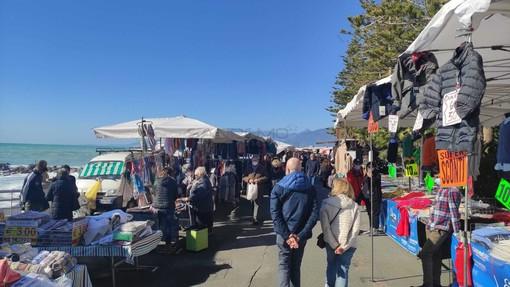 Il mercato di Bordighera