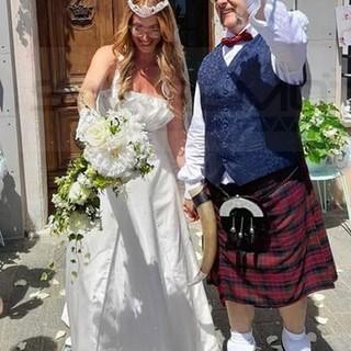 La sanremese Marilisa Di Federico e Giorgio Bondi sposi: doppia cerimonia a Vado e Sanremo (Foto)