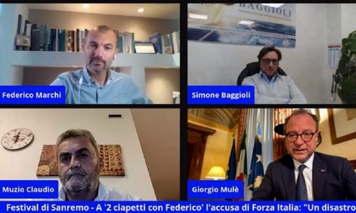 """A '2 ciapetti con Federico' il Sottosegretario Mulè: """"Con il Festival non ha vinto nessuno, dalla Rai a Sanremo"""""""