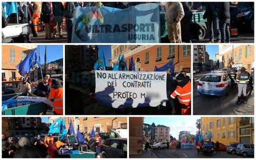 """Imperia: netturbini sulle barricate per il contratto 'Proteo', i sindacati """"Vogliamo solo il rispetto dei contratti"""" (Foto e Video)"""