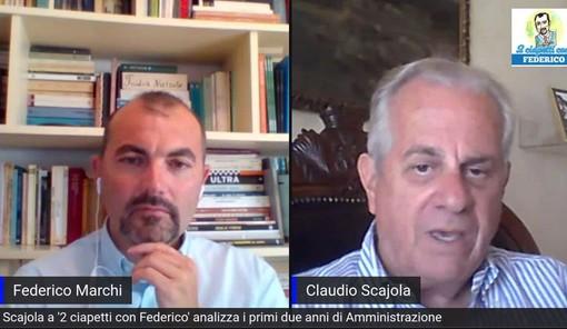 """Claudio Scajola a '2 ciapetti con Federico' parla del porto: """"Entro fine anno l'istanza di concessione in house. E sulle regionali..."""""""