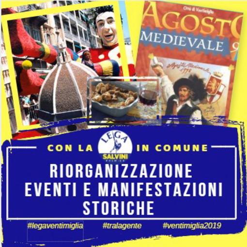 Elezioni Amministrative Ventimiglia: nel programma della Lega si punta sulla riscoperta delle importanti manifestazioni