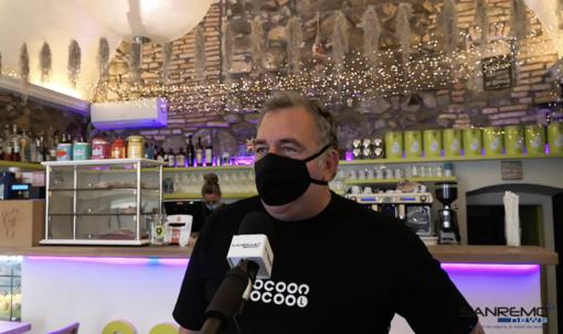Mauro Natta del bar 'Cocoon' di via Cavour