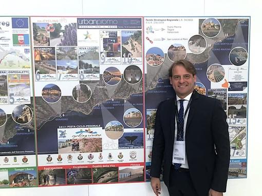 """Regione Liguria a Torino per """"Urban Promo"""", interesse per l'asse ciclabile della Riviera dei Fiori"""