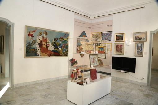 Le sale del Museo Civico di Sanremo