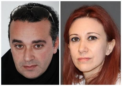 Massimiliano Scialanca e Marilena Semeria