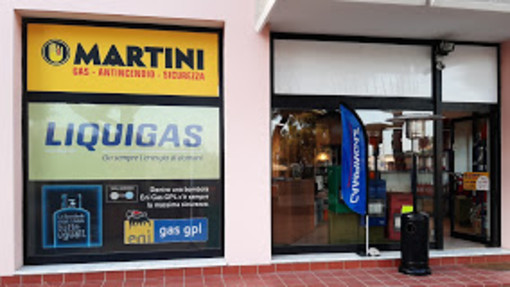 Martini Gas si è rinnovata! Venite a scoprire tutte le novità in via Levà ad Arma di Taggia