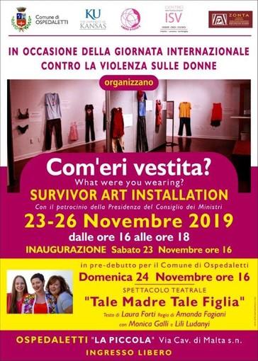 Ospedaletti: sabato prossimo a 'La Piccola', inaugurazione mostra 'Com'eri vestita?
