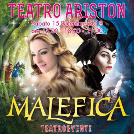 Sabato prossimo all'Ariston di Sanremo in scena il musical 'Malefica e la bella addormentata nel bosco'