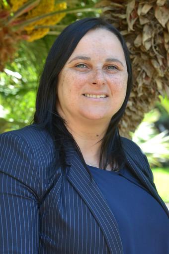 Marzia Baldassarre, assessore del Comune di Bordighera