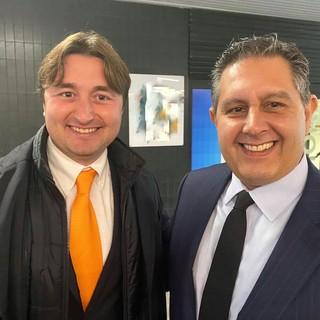 Matteo Cozzani e Giovanni Toti