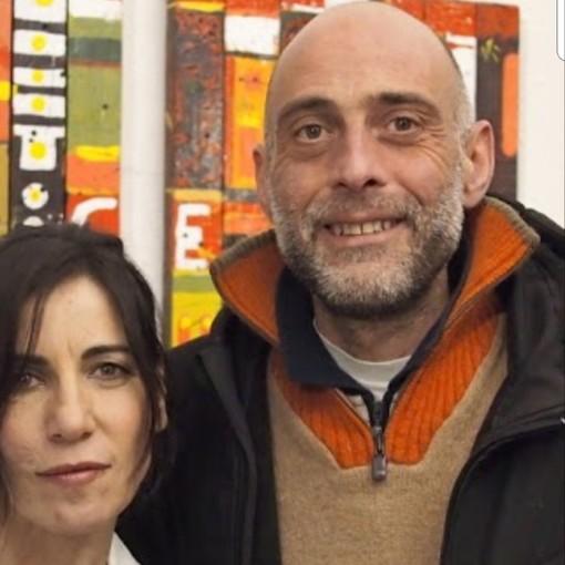 Mauro Martini con Paola Turci