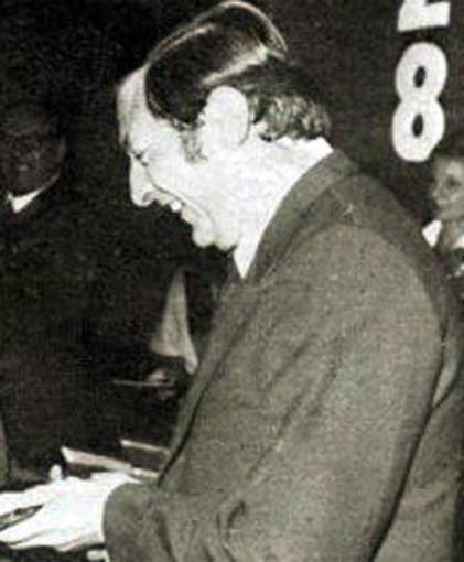 Foto tratta da una pubblicazione della Cumpagnia d'u Teatru Ventemigliusu