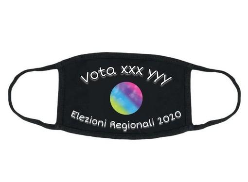 """Le Regionali 2020 si avvicinano, tra i gadget dei candidati preparatevi alle...""""mascherine elettorali"""""""