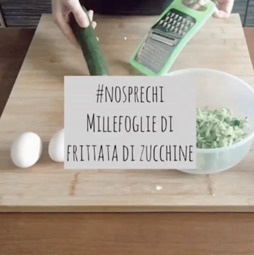 I Deplasticati ci portano alla scoperta delle ricette antispreco di Rosaria Berci: oggi millefoglie con frittata di zucchine (Video)
