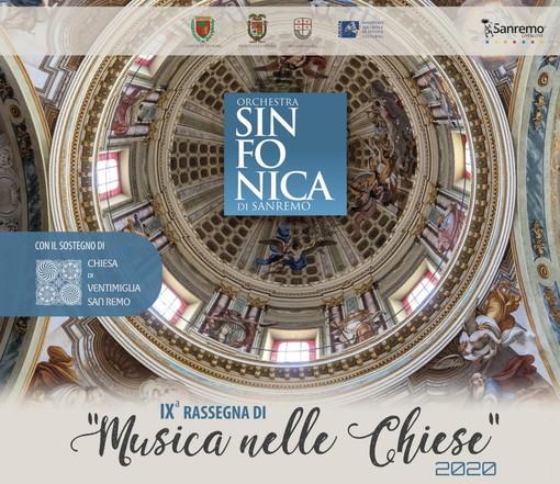 Sanremo: ultimo evento stasera alla Chiesa degli Angeli per la rassegna con l'Orchestra Sinfonica