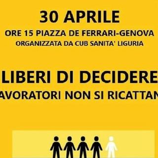 Venerdì la manifestazione contro l'obbligo di vaccinazione per il personale sanitario. Le ragioni a '2 ciapetti con Federico'