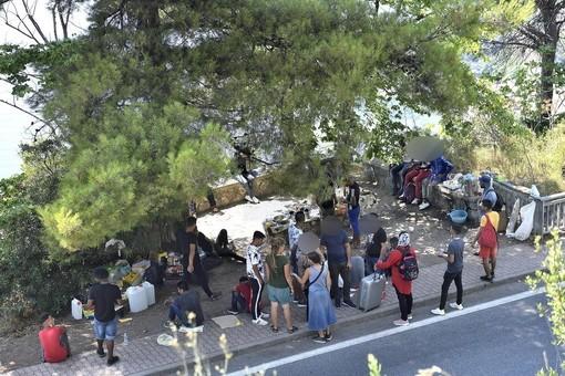 Ventimiglia: preoccupazione per la situazione migranti, in molti nella zona di Grimaldi e c'è il timore per le 'riammissioni'