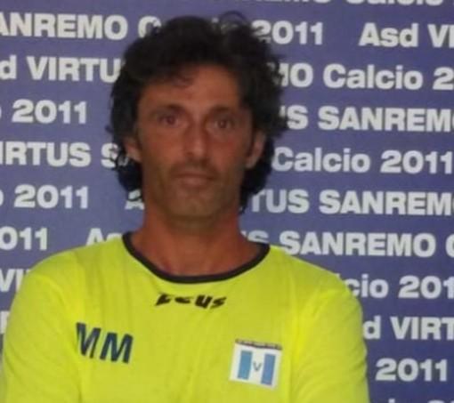 Massimiliano Moroni, allenatore della Virtus Sanremo