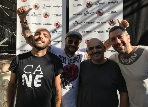 I Meganoidi a Rock in the Casbah con Simone 'Radiomandrake' Parisi