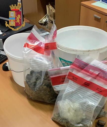 Imperia: spacciatore trovato in possesso di 600 grammi di marijuana arrestato dalla Polizia