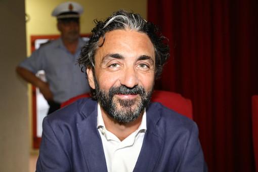 Mario Conio, il sindaco di Taggia