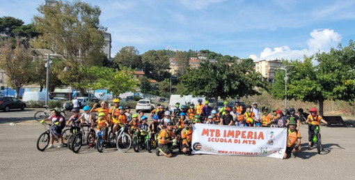 Mountain Bike: da sabato scorso sono ripresi al parco urbano i corsi della società Mtb Imperia (Foto)