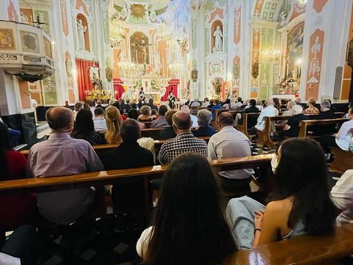Aurigo: ieri le celebrazioni in onore della Madonna Addolorata, presenti le massime autorità (Foto)