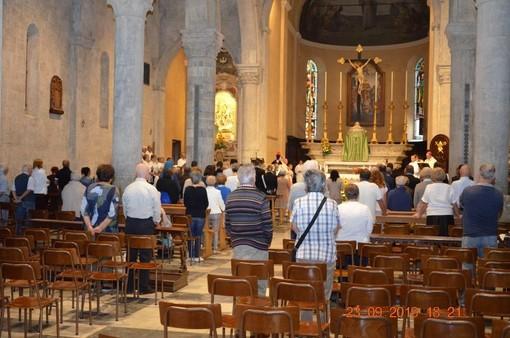 Sanremo: questo pomeriggio è stata celebrata la Messa di suffragio in occasione del 76º anniversario della morte di Salvo D'Acquisto (Foto)