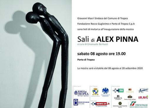 L'artista imperiese Alex Pinna esporrà le sue opere da sabato al 20 settembre a Tropea