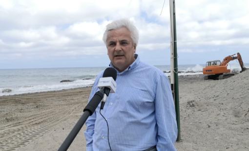Mauro Menozzi, assessore al Demanio del Comune di Sanremo
