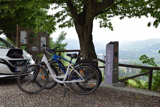 La mobilità elettrica per la crescita di turismo e territorio oggi al castello di Grinzane Cavour