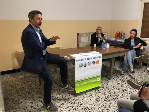 Imperia: per le Amministrative, tour nelle frazioni di Sant'Agata e Moltedo del candidato Sindaco Luca Lanteri